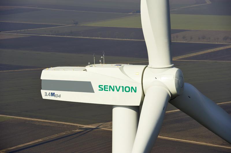 Senvion's 3.4M104 turbine will be used at Crook Hill (Pic: Senvion SE 2014)