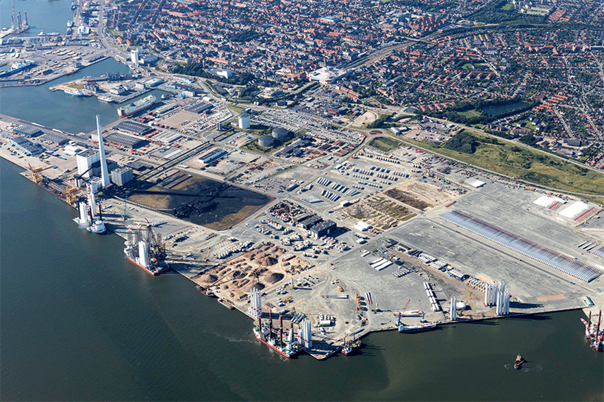 Future growth in the sector will enable more European ports to become offshore wind hubs (pic: Port of Esbjerg)