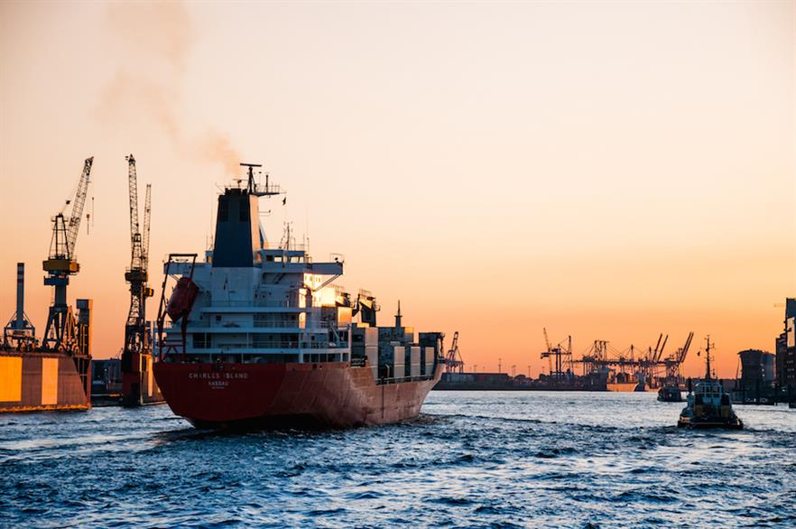 The report comes in the same month that the world's shipping industry was ordered to halve emissions by 2050 (pic credit: Martin Damboldt)