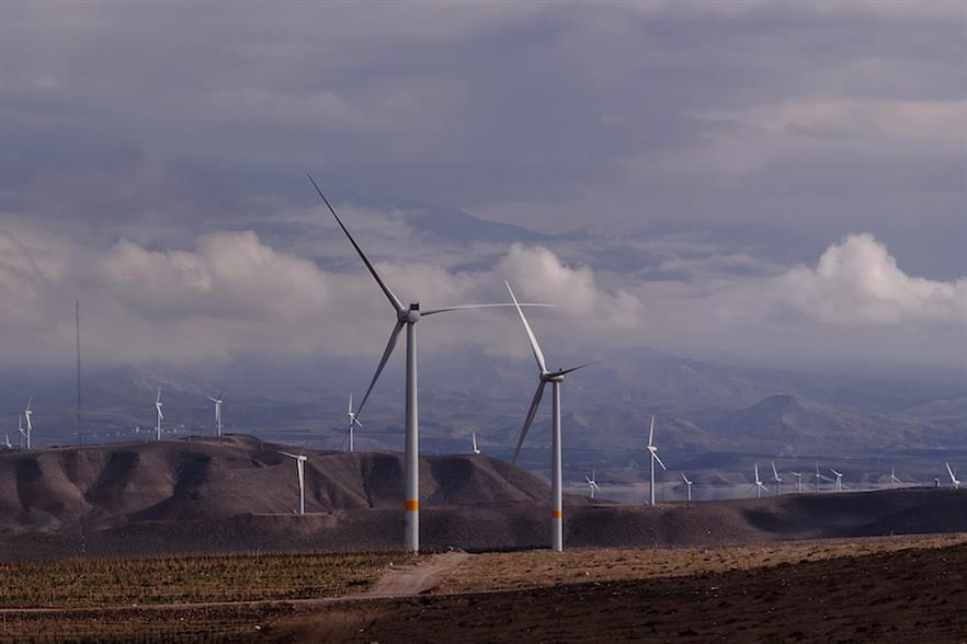 The Siahpoush wind farm features 18 Siemens Gamesa turbines