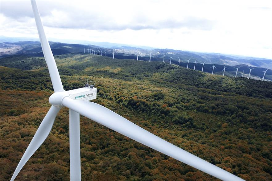 Siemens Gamesa's Indian-built model has been developed from the 3.X platform turbine, here in operation at the Alaiz test site in northern Spain