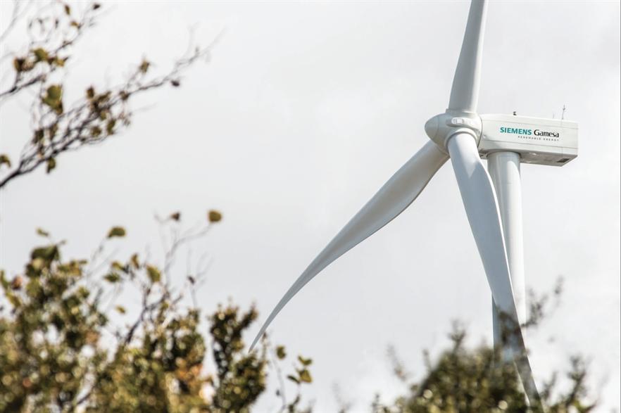 The Gunaa Sicarú wind farm is due to consist of 96 of Siemens Gamesa's SG 2.625-126 turbines