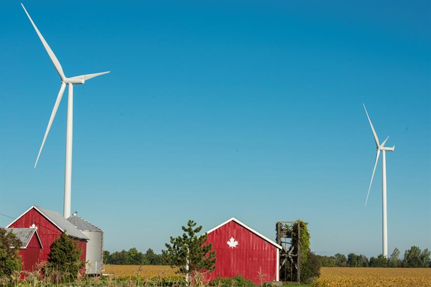 Siemens has received two orders for 137 2.3MW turbines