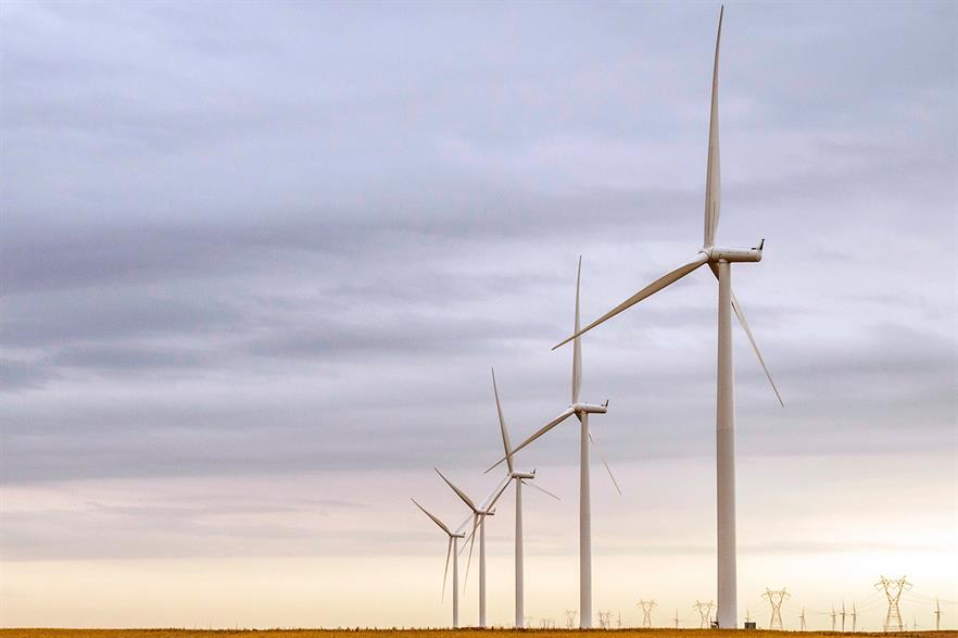 US wind capacity now stands at 74.8GW (pic: Siemens)