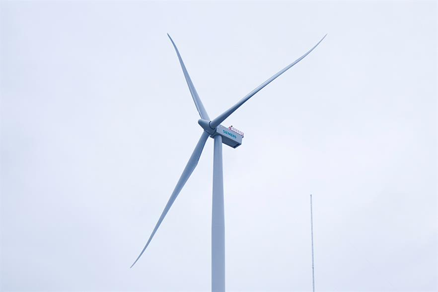 Siemens' 4MW turbine is set to be installed at the Formosa test site