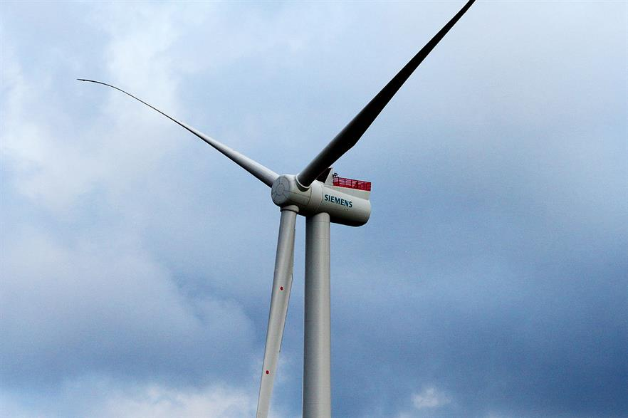 Siemens 6MW turbine will be installed at Veja Mate — the order was placed in Q4