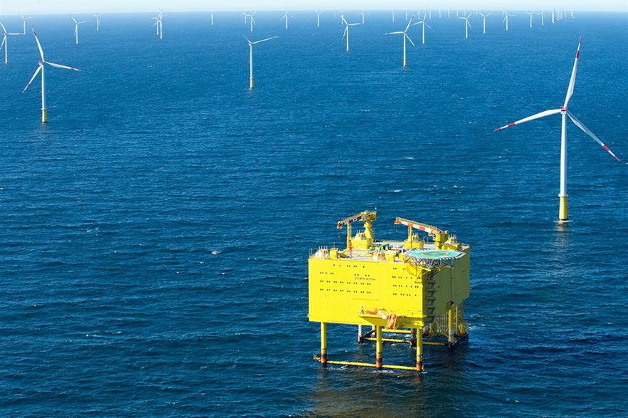 Between 600MW and 1,400MW of Germany's offshore transmission capacity could be left unused (pic: Siemens)