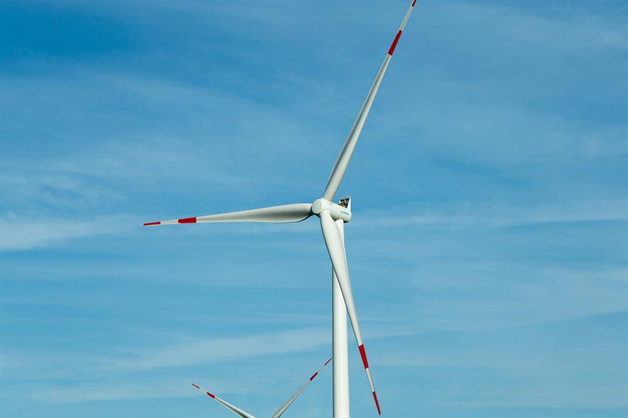 Siemens' 3.2MW turbine will provide power for Google data centres