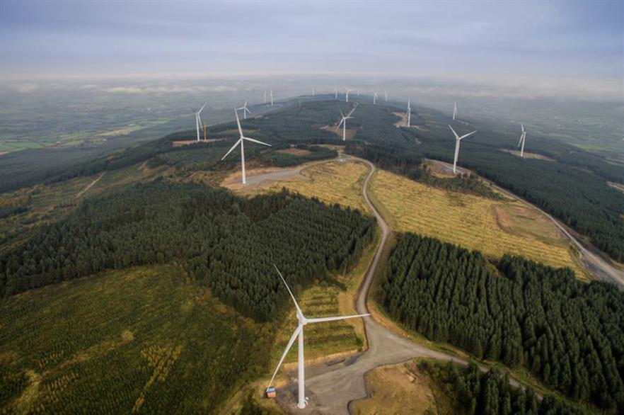 Coillte co-owns the Sliabh Bawn project, as well as several other projects in Ireland