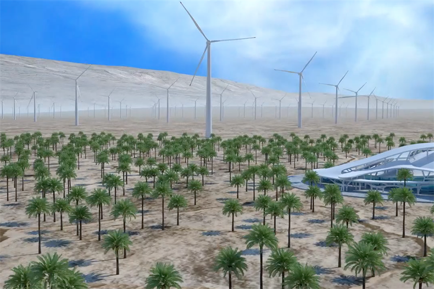 Soluna will build computing centres alongside the wind project, dedicated to cryptocurrency mining and other blockchain technologies