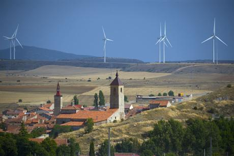 21.1% of Spain's power will have come from wind this year