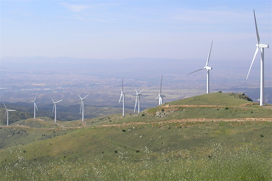 Wind generation outstripped its own Spanish national monthly record in December 2020-February 2021 (pic credit: Enel Green Power)
