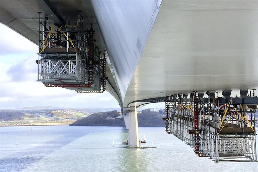 Span Access has also developed solutions for bridge repair work