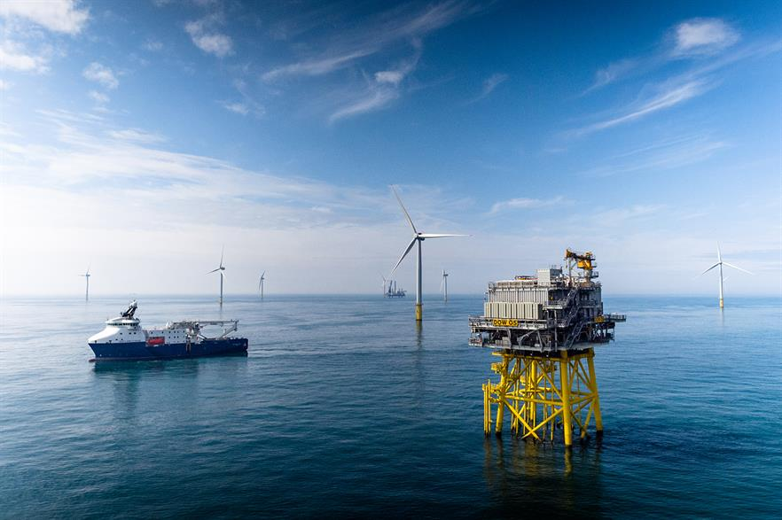 Of the 230GW capacity needed, 180GW would be in the North Sea, where Statoil's 402MW Dudgeon project is located (pic: Jan Arne Wold - Woldcam / Statoil ASA)