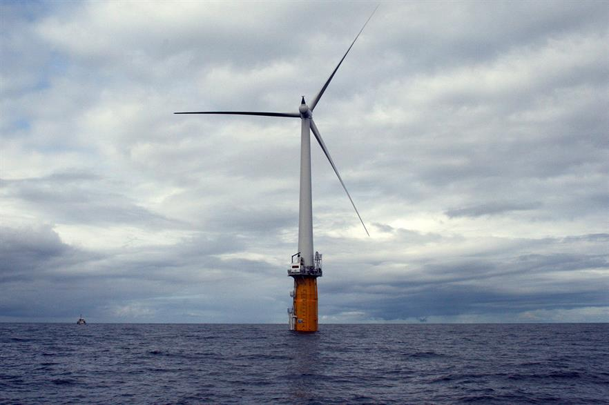 Statoil's 2MW Hywind demonstration project is Norway's only offshore wind capacity to date