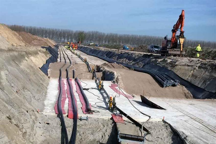 Stevin line… New transmission link for offshore (pic: Elia)