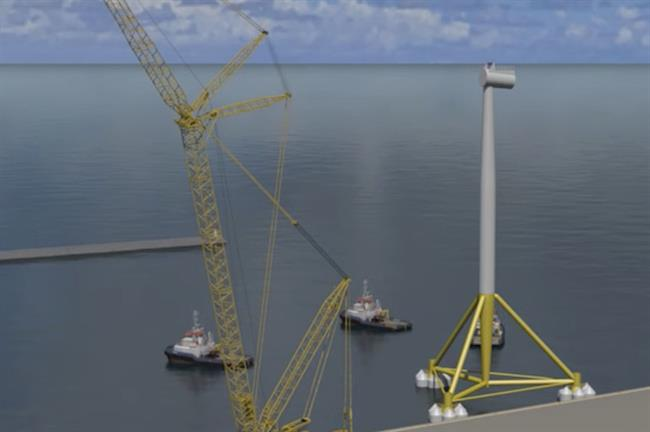 The demonstration project will feature an SGRE 3.6MW turbine (pic: DNV GL)
