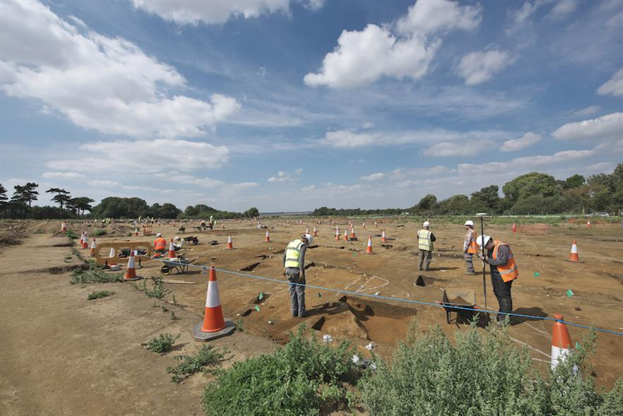 Approximately 400 archaeologists and 20 metal detectorists have been excavating and surveying since February