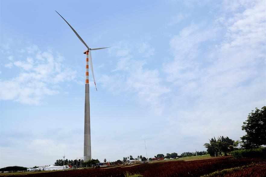 Previously Suzlon's S120 2.1MW turbine had been developed with a 120-metre hub height