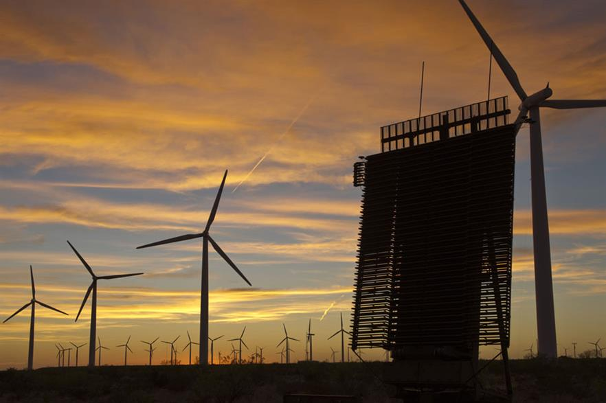 Beaming…Deploying the TPS-77 radar in the UK has freed up more than 3GW of wind capacity (pic:Lockheed Martin)