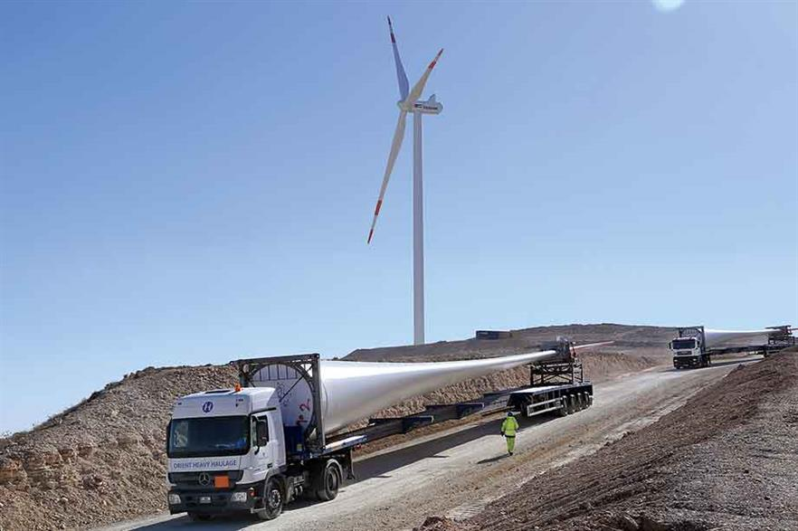Jordan could soon add to its 185MW of installed win-power capacity (pic: JWPC)