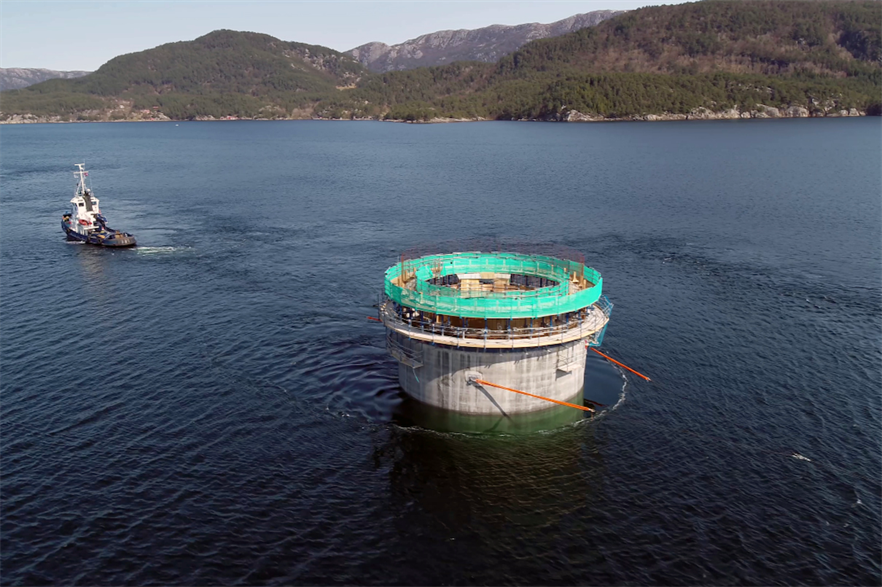 Equinor is developing the Hywind Tampen floating wind project in the Norwegian North Sea (pic: Woldcam/Equinor)