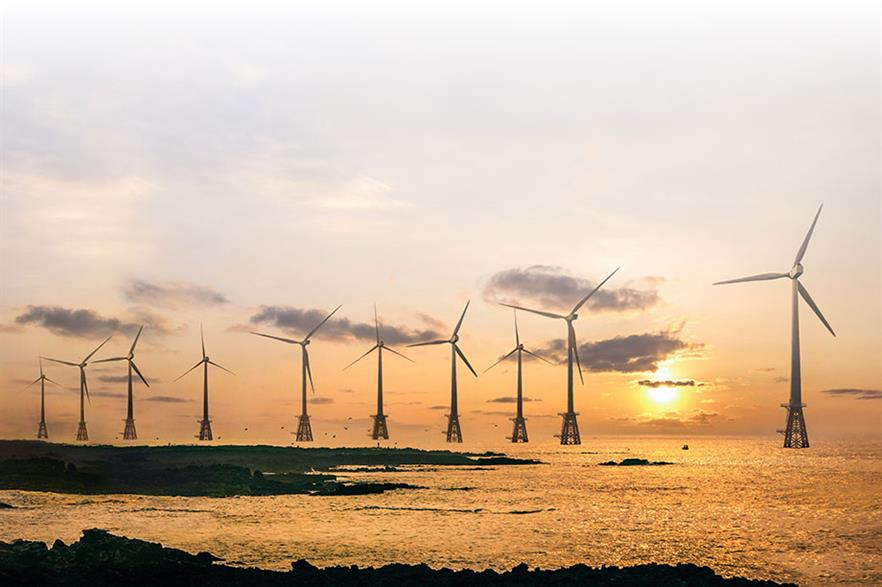 The 30MW Tamra offshore wind farm off Jeju Island is Souh Korea's biggest offshore project to date (pic: Korea South-East Power Company)