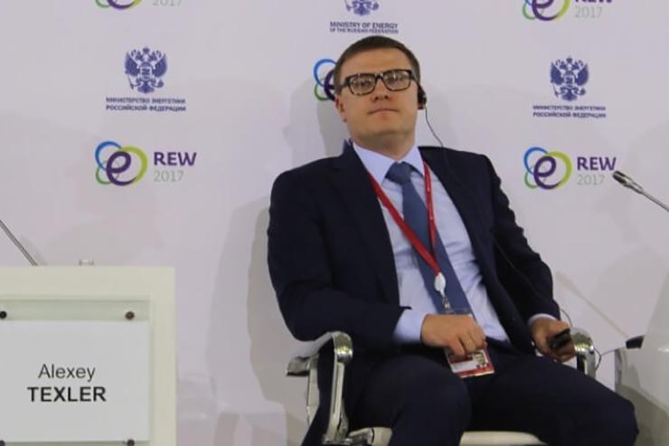First deputy energy minister Alexei Texler (pic source: RAWI)