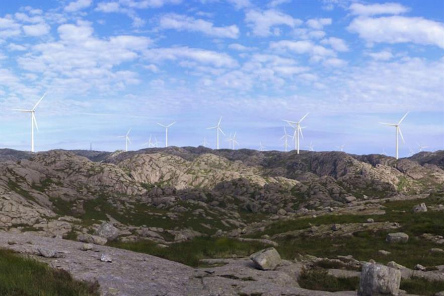 Norsk Vind Energi's 160MW Tellenes wind farm in Rogaland, south-west Norway