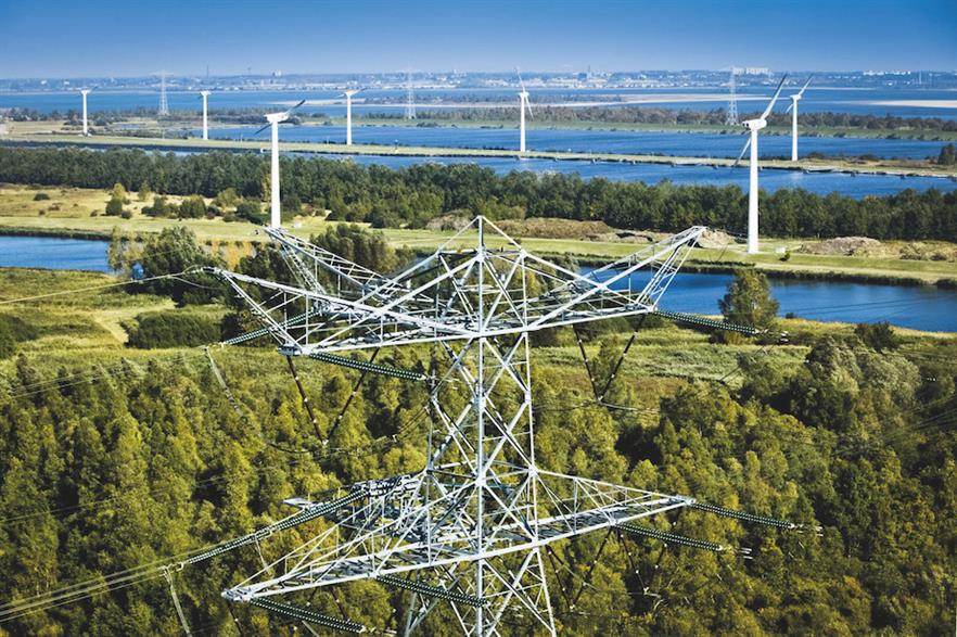 Europe's grid system will need to be expanded to integrate increasing volumes of wind and solar (pic credit: Tennet)