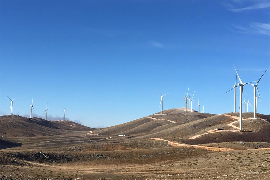 Terna Energy was the only successful wind bidder in Greece's first joint wind-solar tender