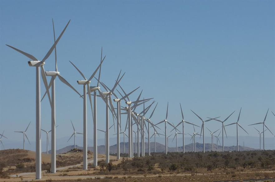 The Alta Wind complex in California