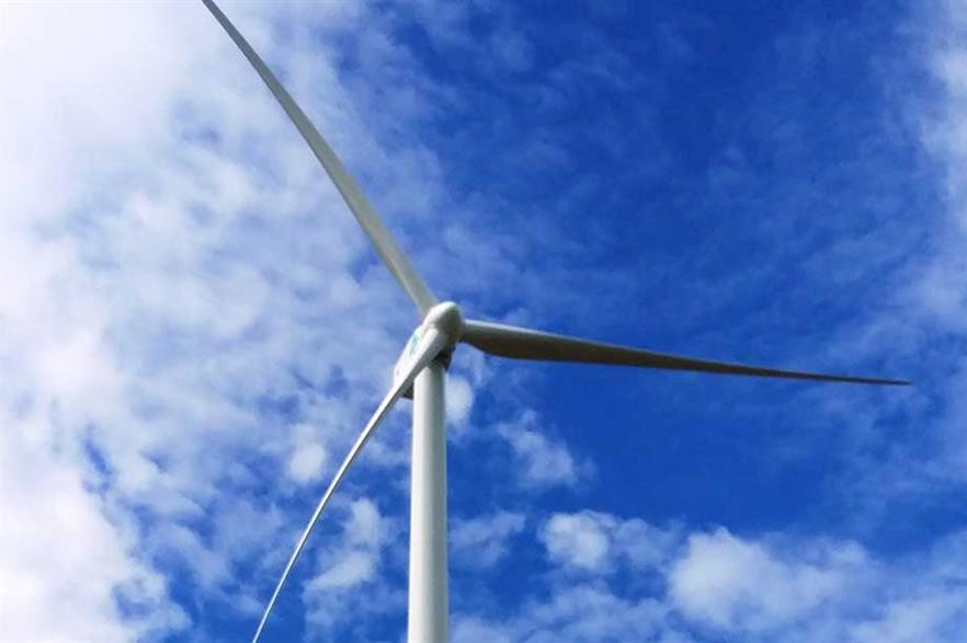 SGRE's G126-2.5MW turbines will be installed on 135-metre towers at the Hanuman wind project