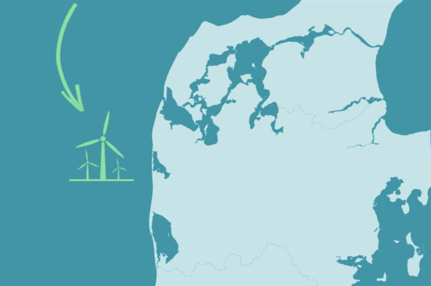 The up-to 1GW Thor site will be built off the west coast of Denmark