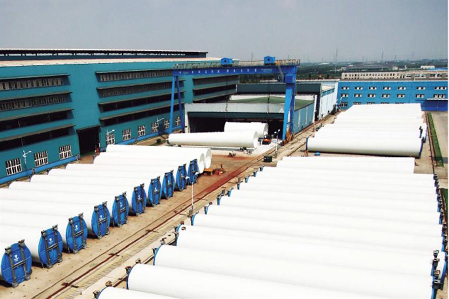 A Titan Wind Energy factory