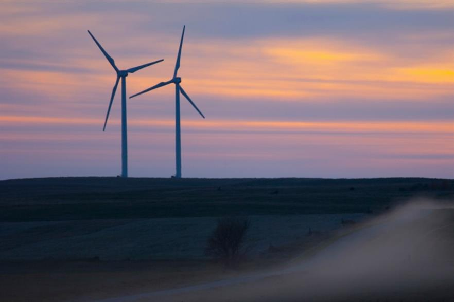 BP's Titan 1 wind farm in South Dakota, United States