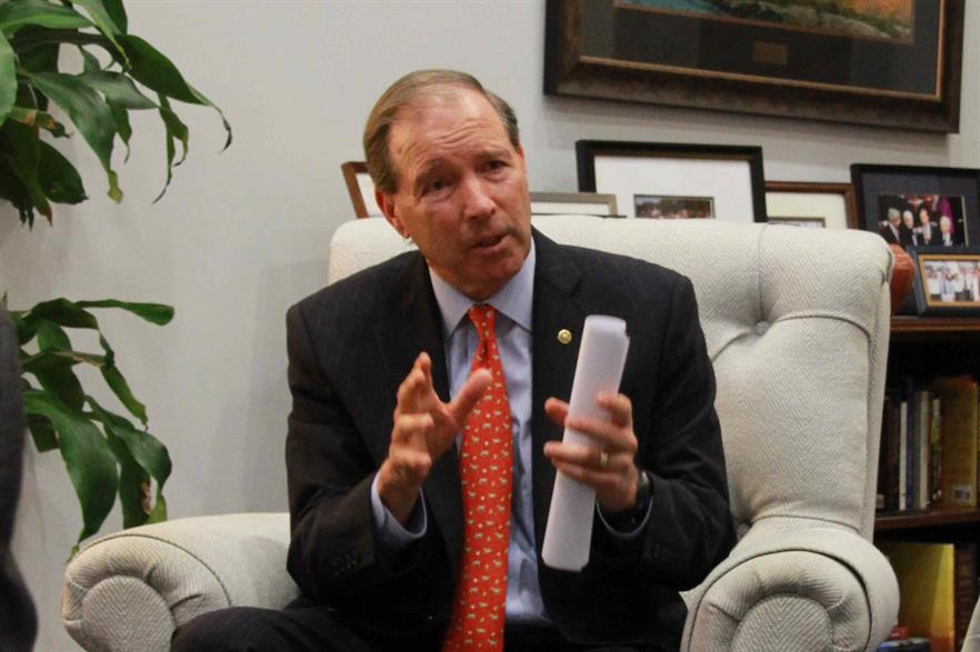 Senator Tom Udall introduced the bill requiring the US hits 50% electricity generation from renewable sources by 2035