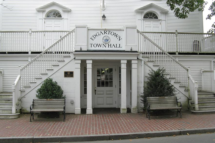 The local authorities in Edgartown denied planning for the project's cable route after protests from the local fishing industry (pic: John Phelan / Wikimedia Commons)
