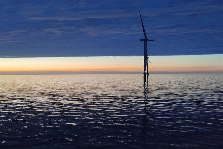 RWE owns 59% of the Triton Knoll offshore wind farm off the UK, while Kansai Epco holds 16%