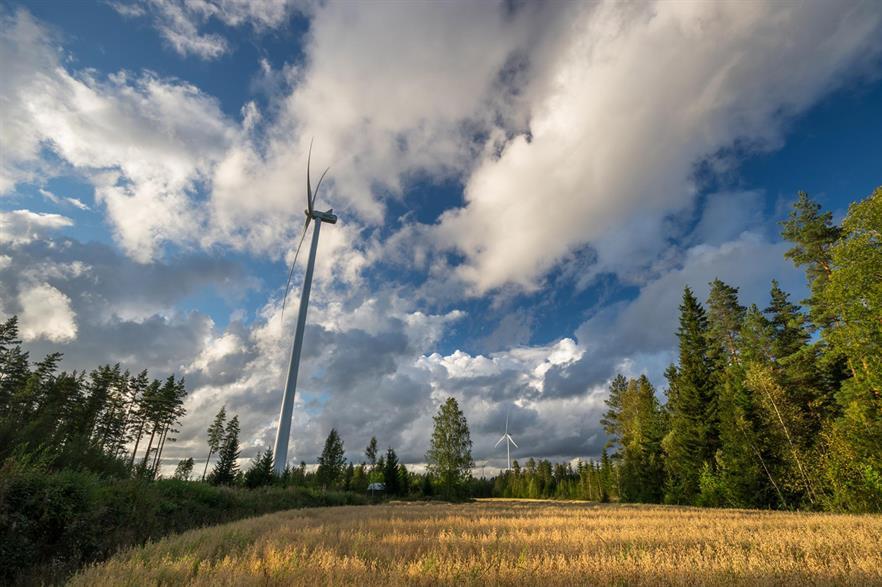 Tuuliwatti's Siikainen Jäneskeidas project also uses Vestas turbines