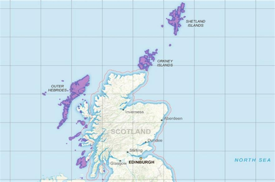 Projects on the remote islands such as Lewis in the Outer Hebrides are eligible to compete in the UK's next CfD tender