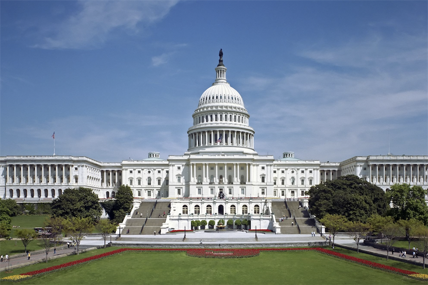 Both the US Senate and House of Representatives passed the bill on Monday (21 December) (pic: US government)