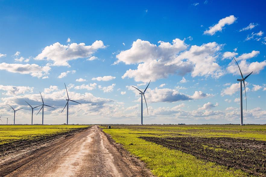 Fossil-fuel lobbies have Texas wind power in their sights (pic: Apex Clean Energy)