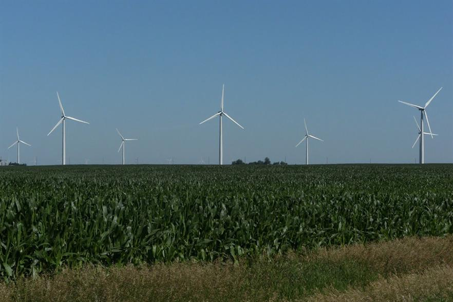 Google's first power deal was from NextEra's Story County site in Iowa