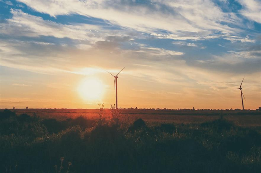 Finnish developer Fortum's 35MW Ulyanovsk project near the city of the same name - Russia's first wind farm