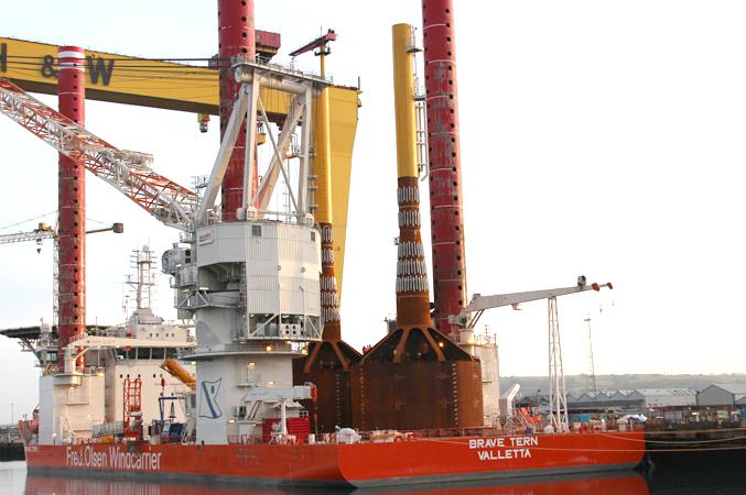 Icebreaker will use mono-bucket foundations
