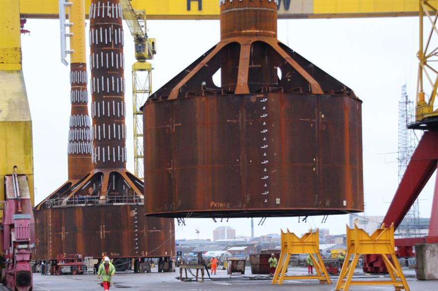 The Universal Foundation monobucket foundation will be trialed at the Deutsche Bucht project
