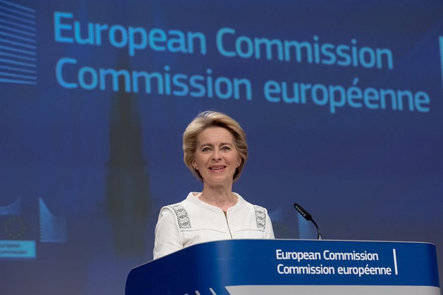 European Commissioner Ursula von der Leyen unveiled the European Green Deal in Brussels