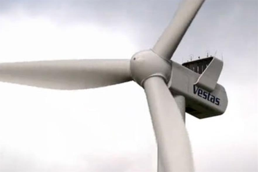 Vestas will install its V112-3MW turbines on the project
