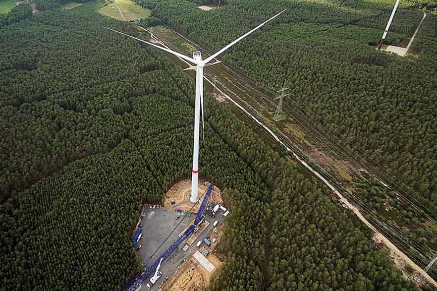 New onshore models… Vestas launched three 4MW models in June, including the V136 aimed at markets  with noise or height restrictions